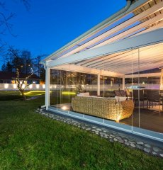 Get the Most Use Out of Your Patio Year-Round with Retractable Glass Walls